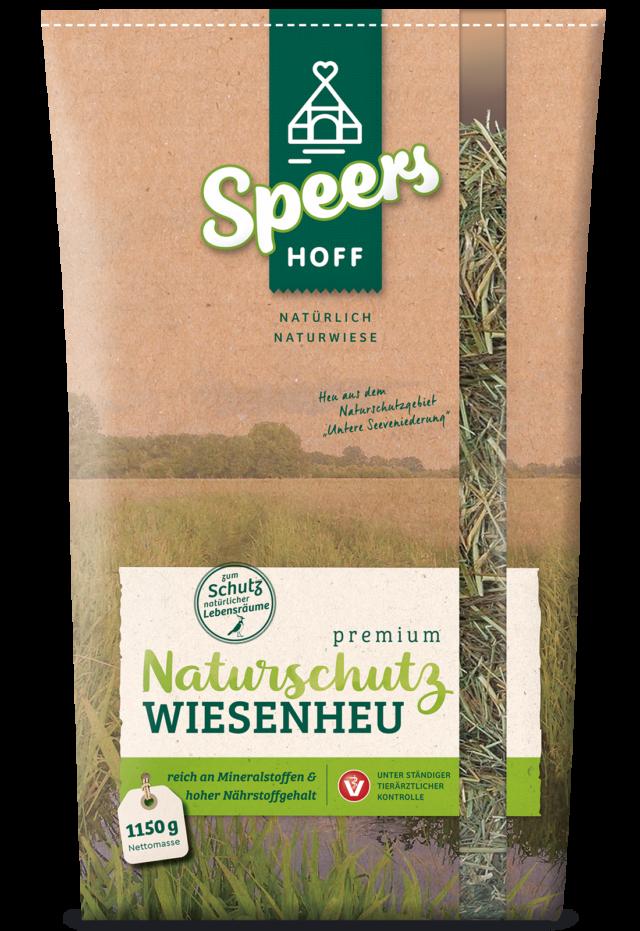 1150 Gramm Verpackung Speers Hoff Produkt Premium Naturschutz Wiesenheu für Hasen, Chinchillas und Meerschweinchen