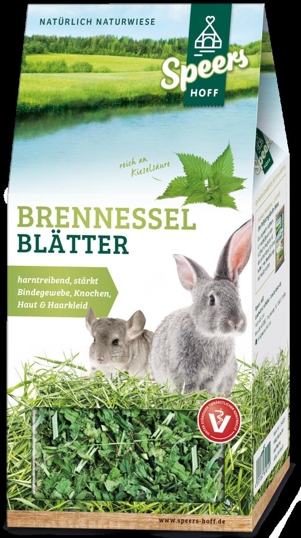 Verpackung Speers Hoff Produkt Brennnessel Blätter für Kaninchen und Chinchillas