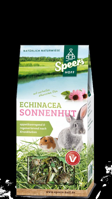 Verpackung Speers Hoff Produkt Echinacea Sonnenhut für Kaninchen und Meerschweinchen