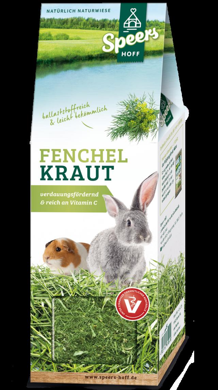 Verpackung Speers Hoff Produkt Fenchel Kraut für Kaninchen und Meerschweinchen