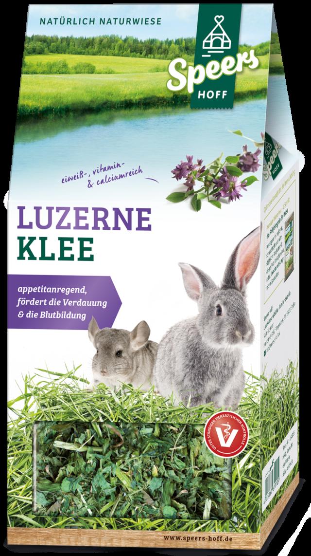 Verpackung Speers Hoff Produkt Luzerne Klee für Kaninchen und Chinchillas