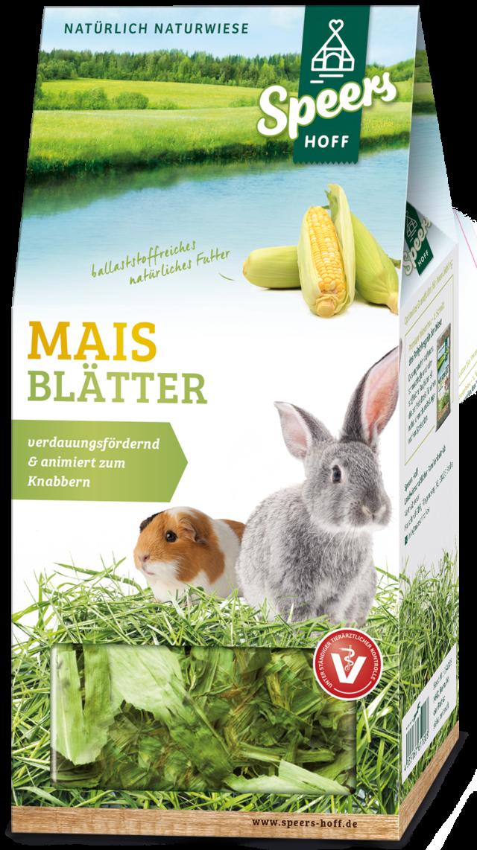 Verpackung Speers Hoff Produkt Mais Blätter für Kaninchen und Meerschweinchen