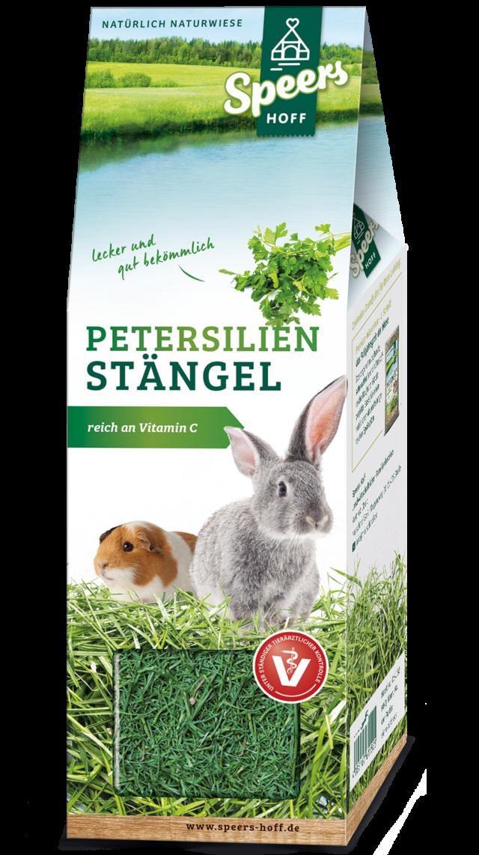 Verpackung Speers Hoff Produkt Petersilien Stängel für Hasen und Meerschweinchen